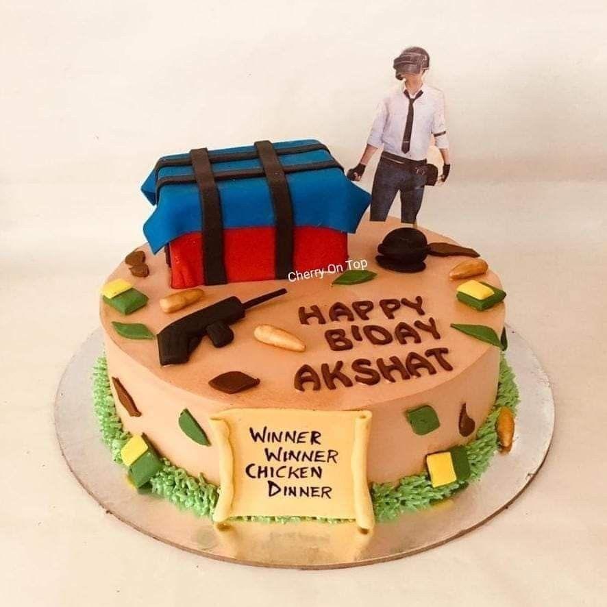Pubg Cake Cakes In 2019 Birthday Cake Cake Themed Cakes