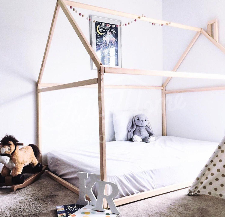 Kinderzimmer  toddler bed house bed tent bed children bed wooden house  sc 1 st  Pinterest & Kinderzimmer  toddler bed house bed tent bed children bed ...