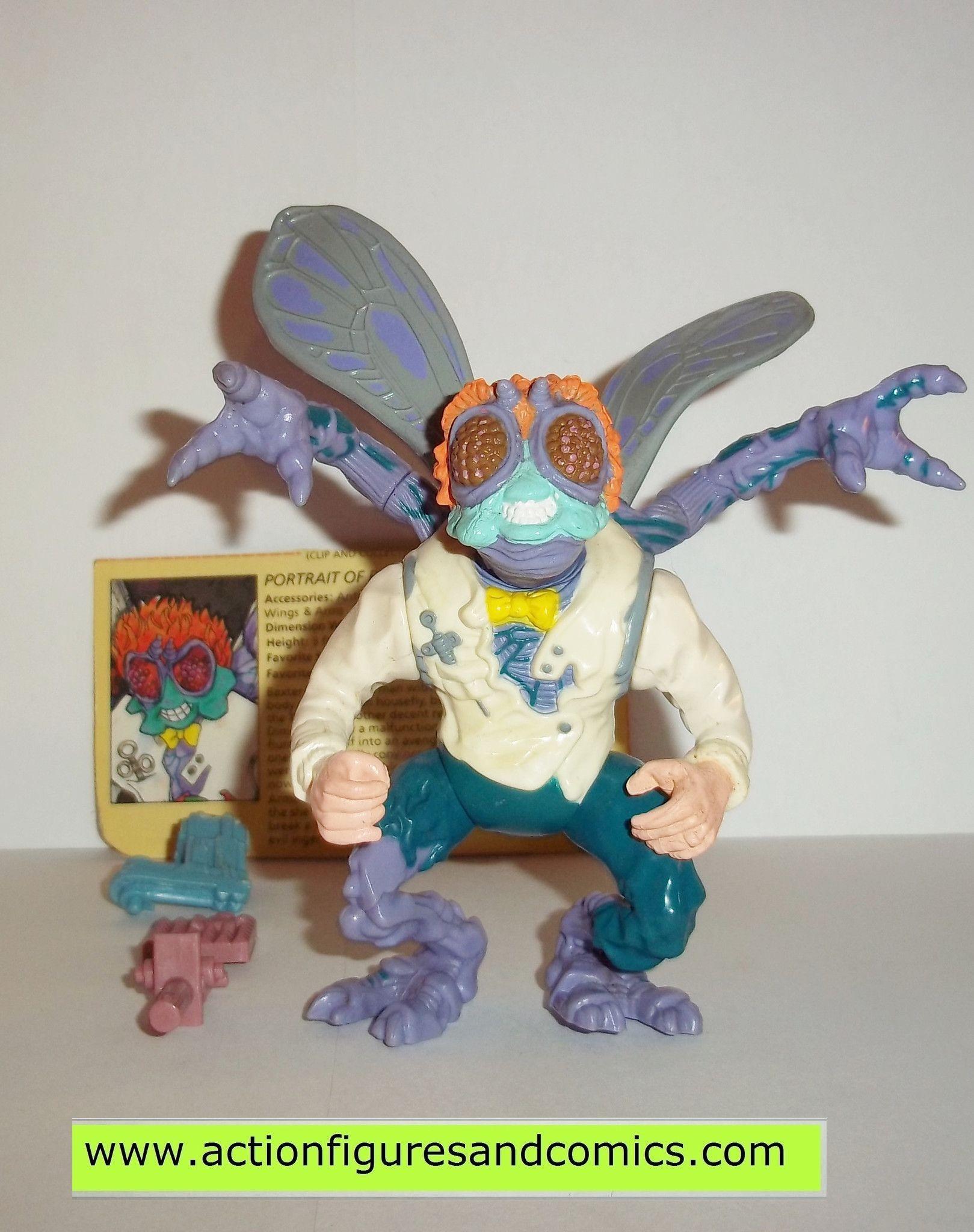 teenage mutant ninja turtles BAXTER STOCKMAN 1989 vintage complete tmnt