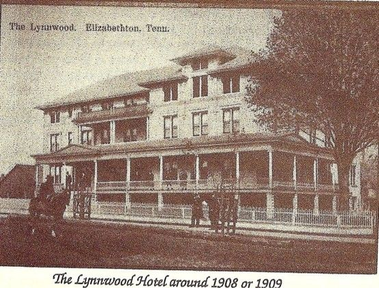 The Old Lynnwood Hotel Many Years Ago No Longer In Existence