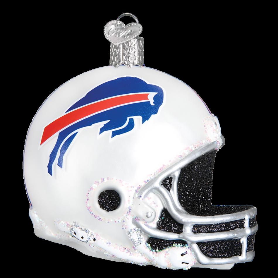 Buffalo Bills Helmet 70417 Old World Christmas Ornament In 2021 Buffalo Bills Old World Christmas Ornaments Old World Christmas
