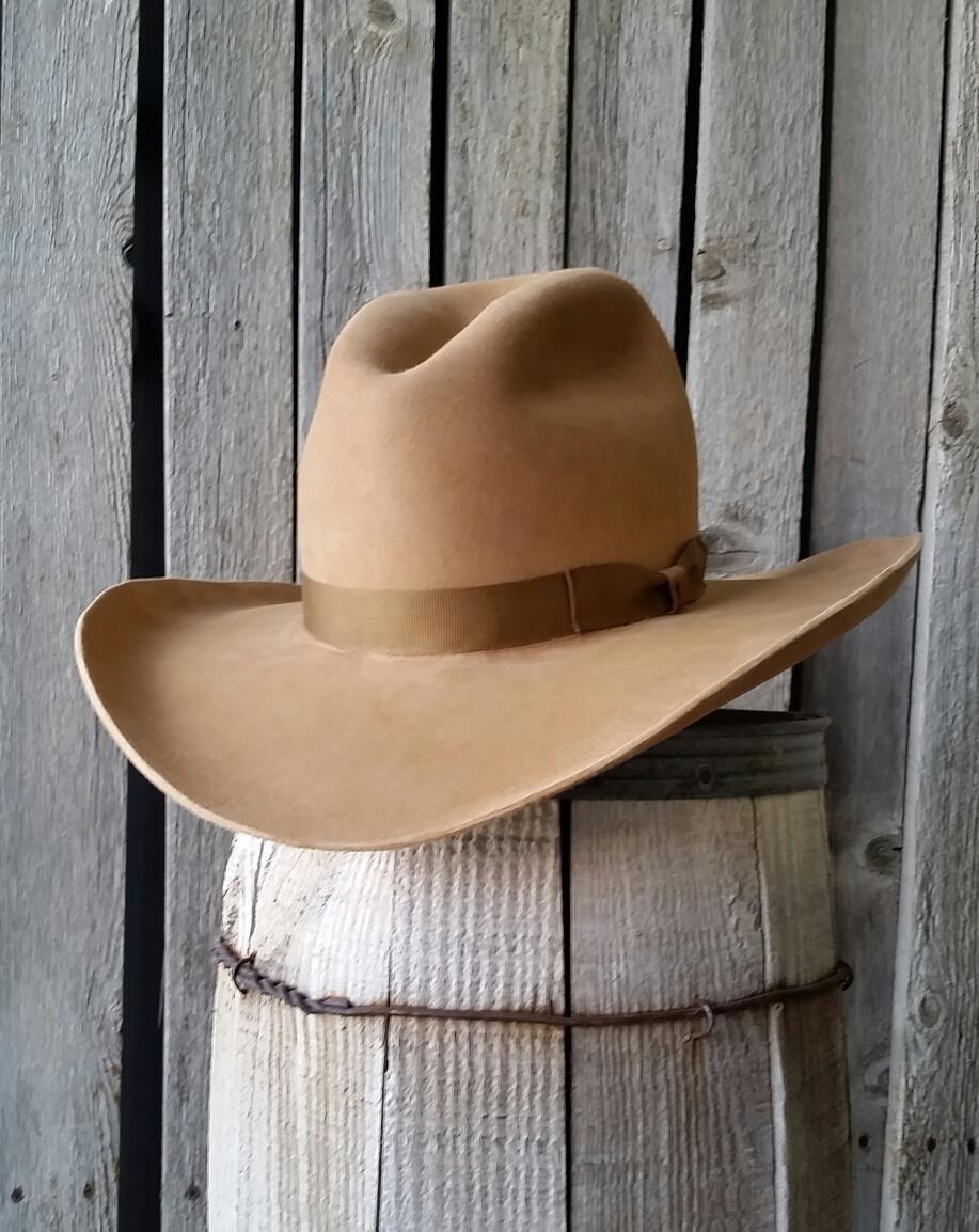Gus style cowboy hat in Camel. Western cowboy hat f4f13e0bb0f