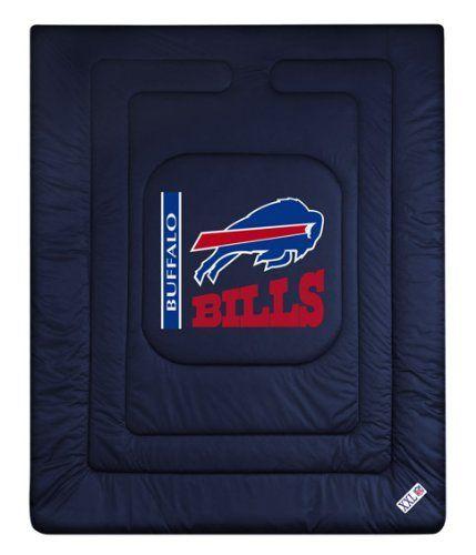 Buffalo Bills Nfl Locker Room Collection Twin Bed
