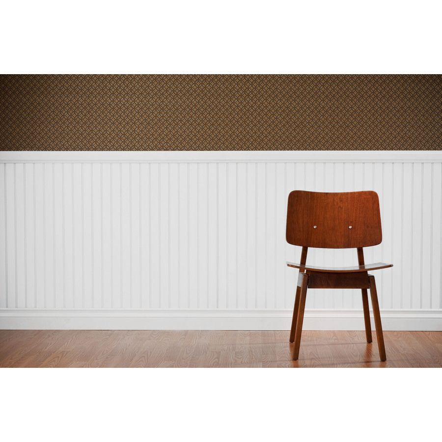 Mdf Beadboard In Bathroom: Shop 7.24-in X 2.66-ft Double Bead White Pine MDF