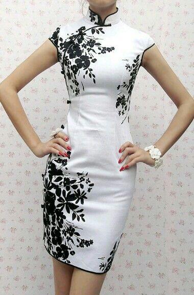 23c8fe141b40 Pin de Cime C P em VESTUARIO | Vestidos chinês, Roupas femininas e ...
