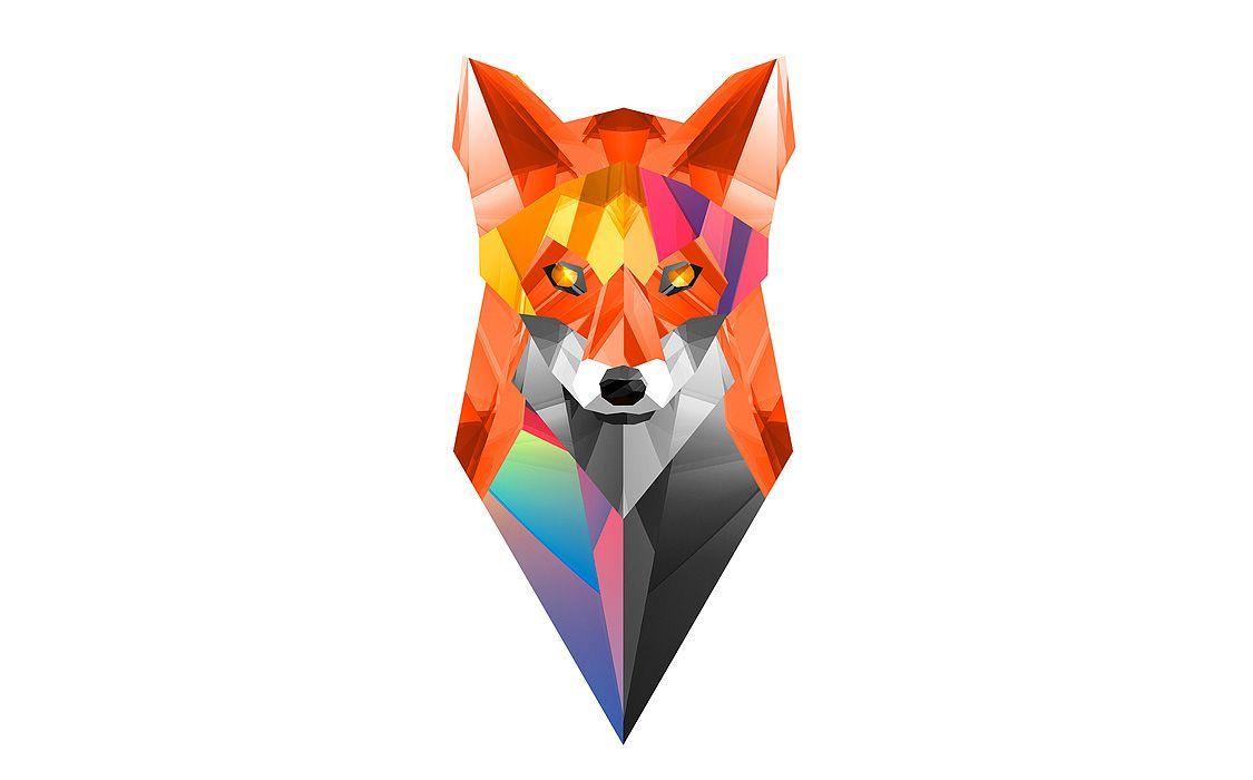 Geometric Animal Wallpaper 74 Images: Animaux Géométrique