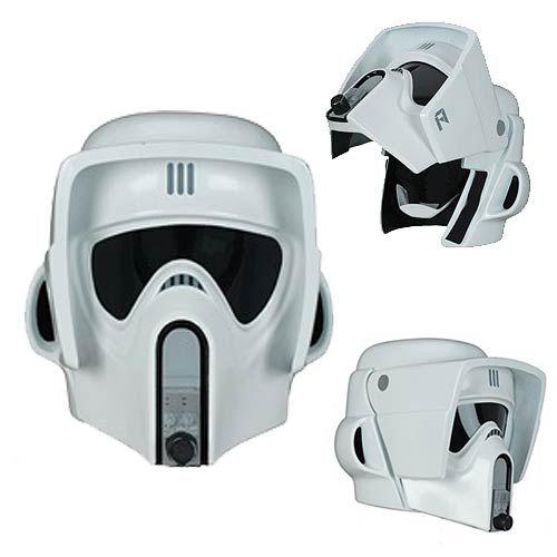Scout Trooper Helmet Adult Star Wars Deluxe Costume Mask Fancy Dress