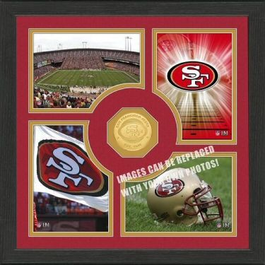 San Francisco 49ers Fan Memories Photo Mint 57 99 Home Decor Made In Usa Man Cave Buy