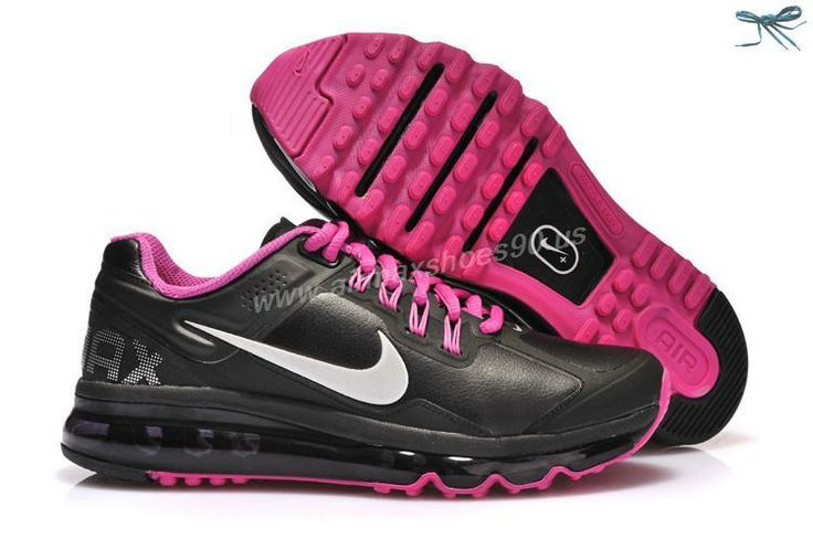 Girly pink nike run shoes Want these #nike #shoes! Maybe