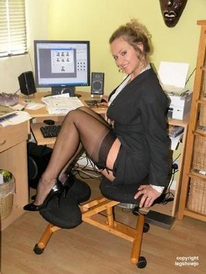 stocking leg show