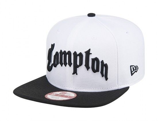 """Compton"" 9Fifty Original Fit 9Fifty Snapback Cap by NEW ERA. "" 2dc815676d3"