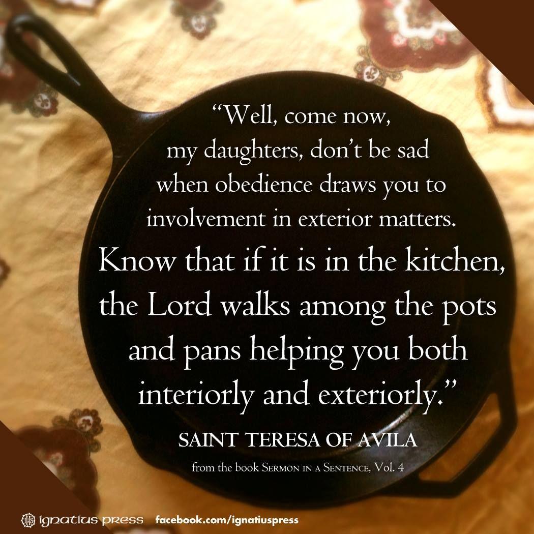 Quotes Of: St Teresa Of Avila Interior Castle Quotes. QuotesGram