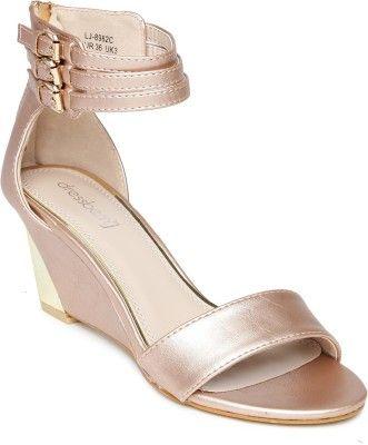 6fdddcc10d5d DressBerry Women Heels - Buy Gold Color DressBerry Women Heels Online at  Best Price - Shop