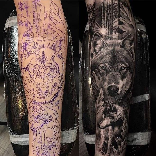 "Photo of Tattoo Media Ink en Instagram: ""Trabajo de tatuaje por: @ashlewistattoo @darksidetattoostudio !!!) #stencilstuff #worldfamousink #ezcartridges #nkbooster #skinart # skinartmag …"""