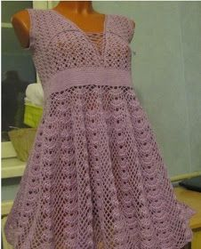 Photo of How to crochet summer dress free pattern