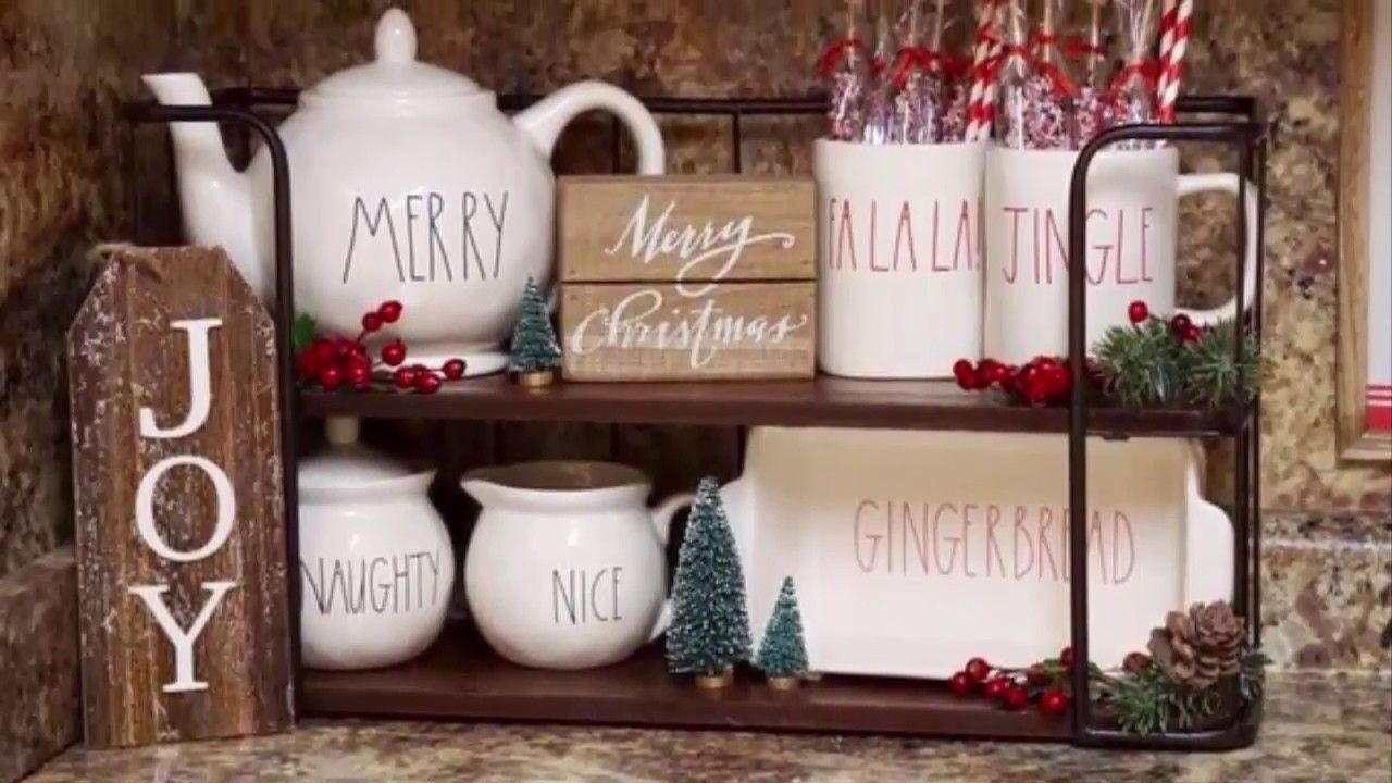 Kitchen Christmas Decorating And Coffee Bar Ideas Christmas Decor Diy Christmas Decorations Christmas Diy