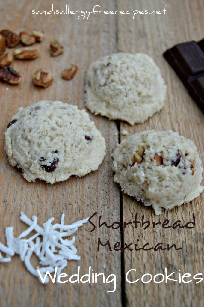 Shortbread Mexican Wedding Cookies (Gluten Free/ Dairy