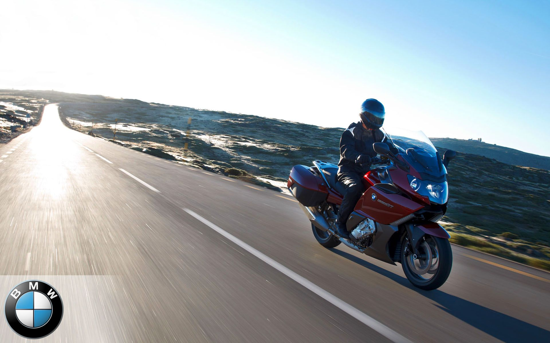 BMW K1600GT Red Wallpaper | Touring motorcycles, Touring ...