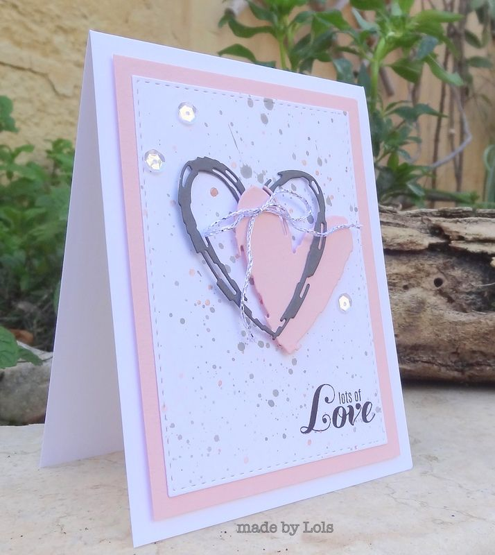 Lorraine S Loft Sketch Heart Valentines Cards Sketches Cards