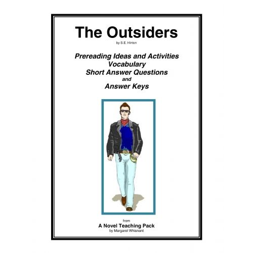 The Outsiders Worksheets The Outsiders Prereading