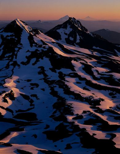 View from South Sister, Oregon