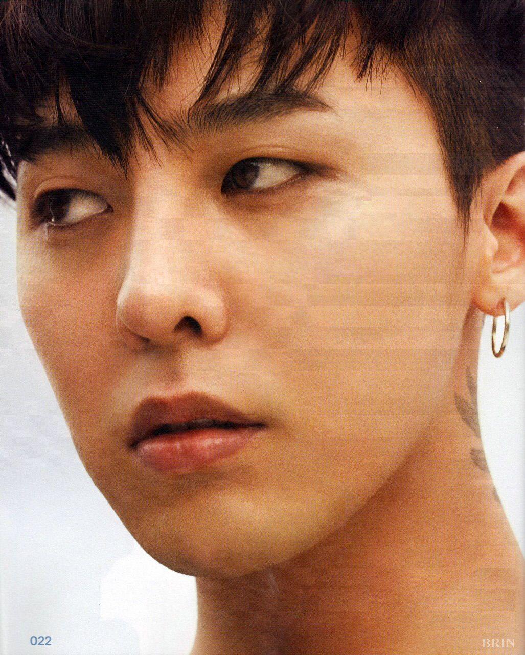 Kwon Jiyong Orange Hair