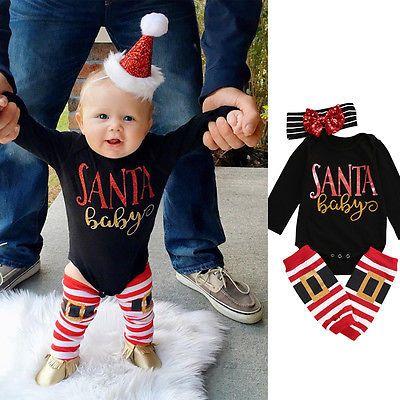 Click to Buy \u003c\u003c Newborn Infant Baby Boys Girls Long sleeve Romper