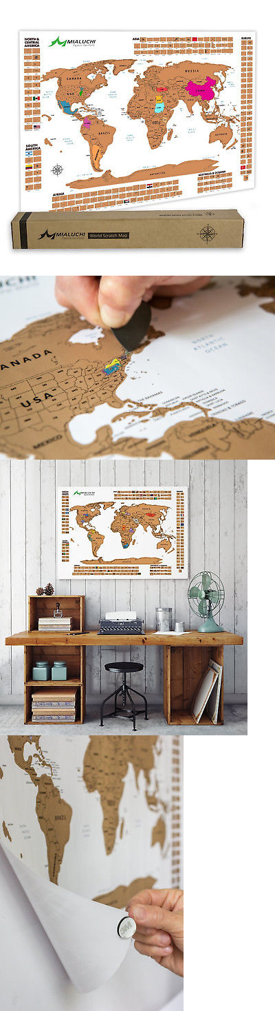 Other travel maps 164807 scratch off world map poster us states other travel maps 164807 scratch off world map poster us states country flags travel gumiabroncs Images