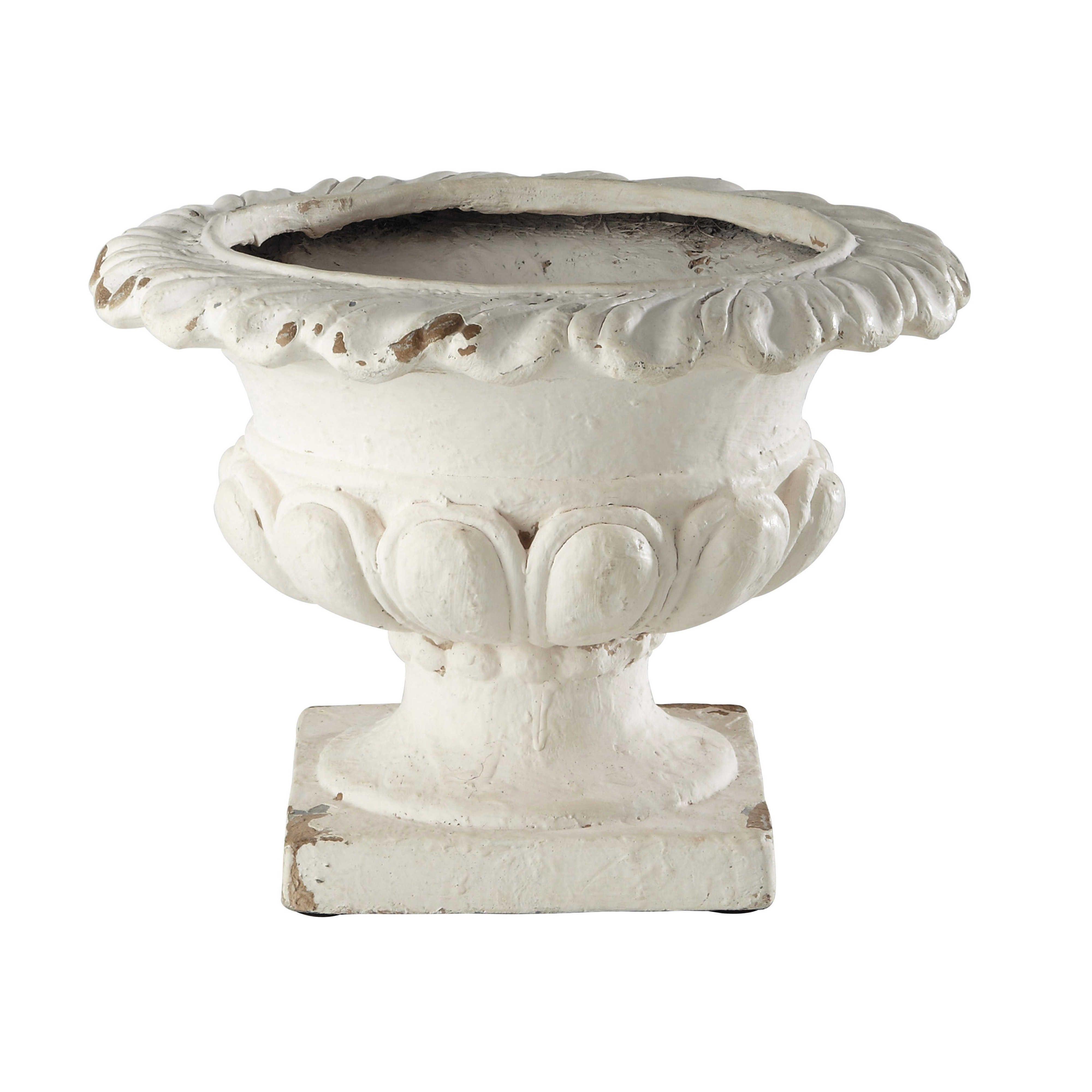 Ordinaire LAZARIE Resin Garden Urn H 28cm