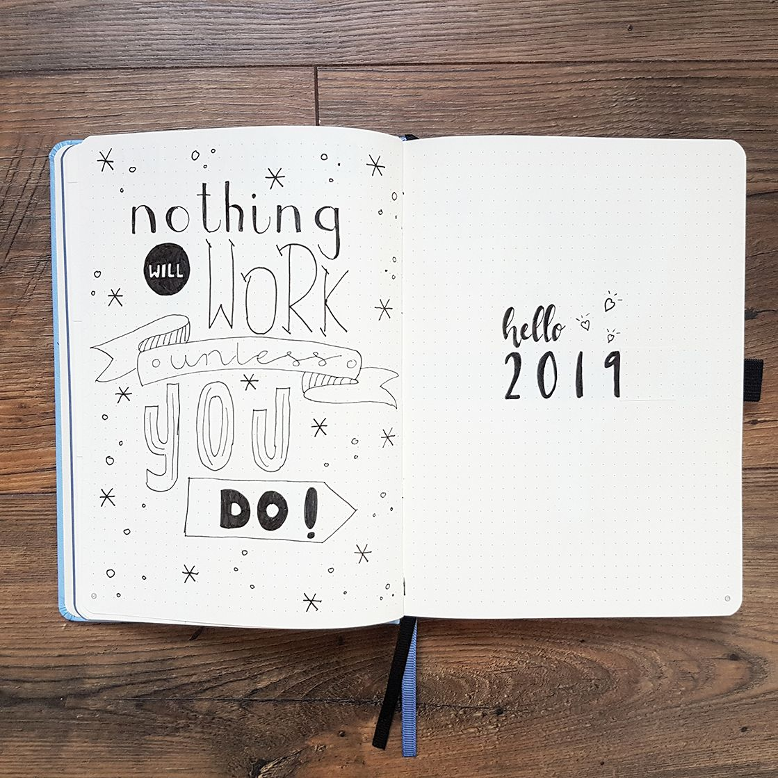 Bullet Journal Set Up 2019 For The Best Year Ever - AnjaHome