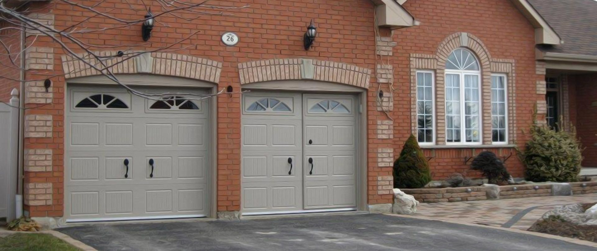 Walkthru Garage Doors In 2020 Garage Doors Glass Garage Door Garage