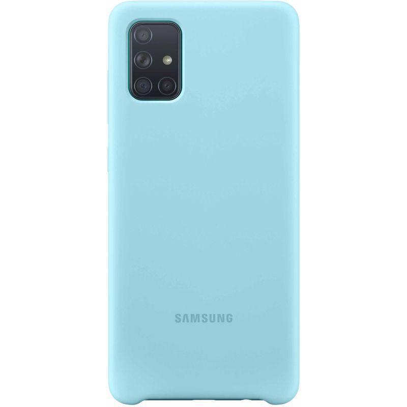 Samsung A71 Silicone Blue Hull Samsung Note Samsung Hull