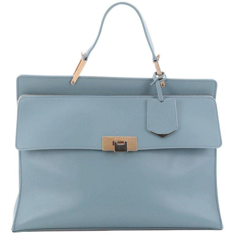 93c1479a83e Balenciaga Le Dix Zip Cartable Top Handle Bag Leather Medium | From a  collection of rare