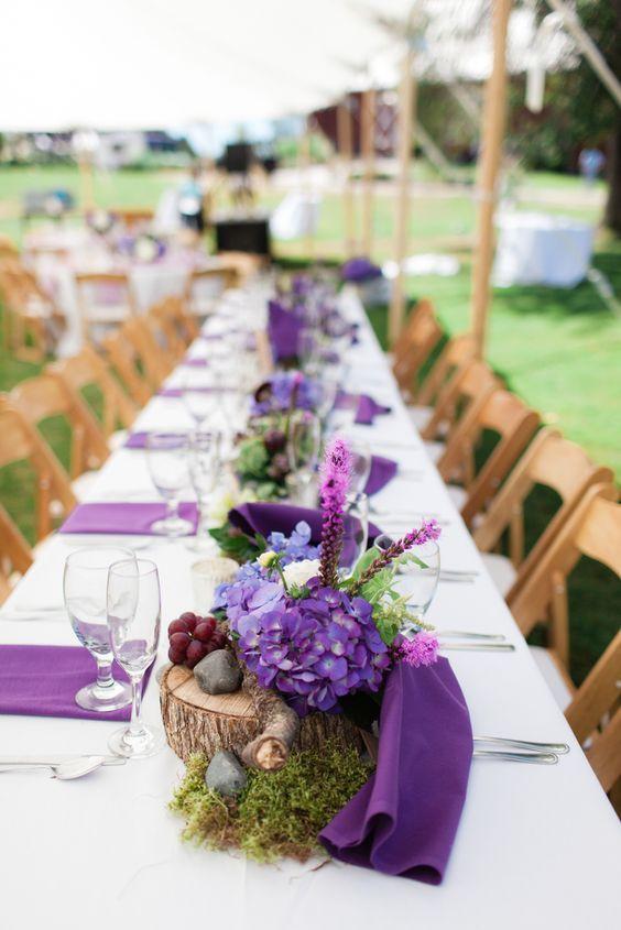 Purple Wedding Ideas With Sophistication Purple Wedding Purple