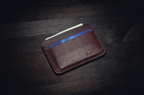 newest collection 457ea 8ced4 Horween Leather Card holder/ Chromexcel Card от northwardhandcraft ...