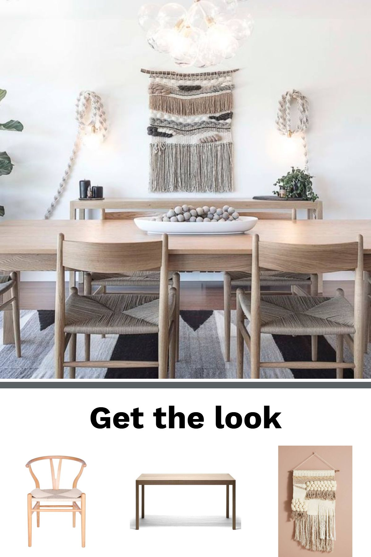 Room redo: Get the look: Modern bohemian dining room images