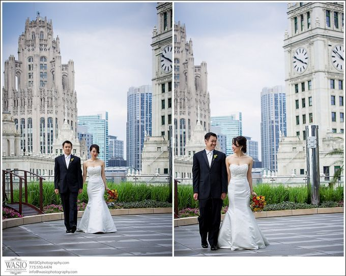 Chicago Hotel Wedding – Trump Tower – Angela   Chris