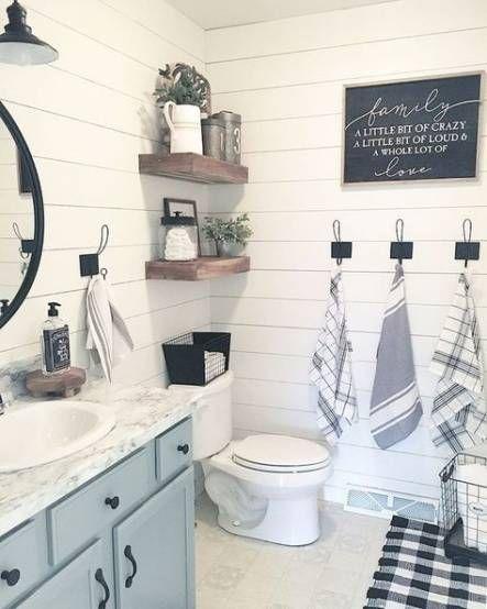 Photo of Farmhouse Bathroom Cabinets Toilets 58+ Ideas # bathroom #cabinets #farmhouse #ide …