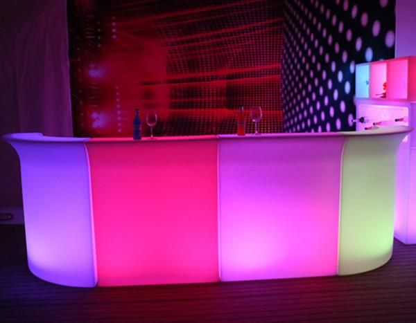Furniture Led Light Up Bar Table Designmarble Counterled Bar Counter