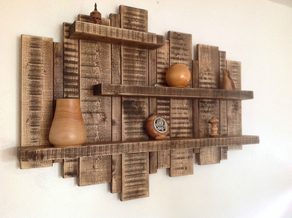 Details About Sale Large Wall Mounted Rustic Floating