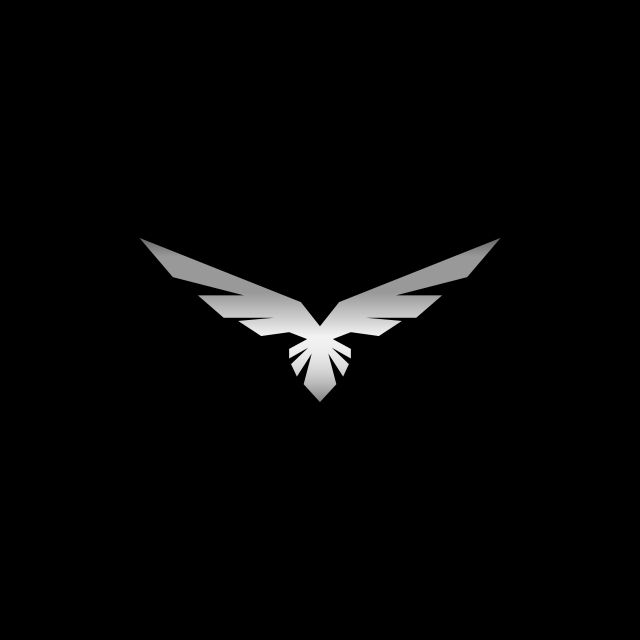 Metallic Eagle Logo Design Logo Icons Eagle Icons Eagle Png And Vector With Transparent Background For Free Download In 2020 Creative Logo Design Art Bird Logo Design V Logo Design