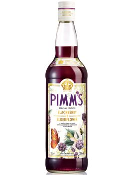 Pimm's Blackberry and Elderflower. With lemonade and vodka and berries. Or over ice cream.