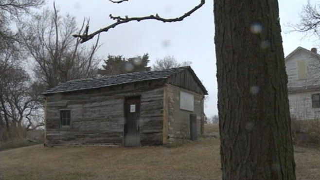 Project under way to save the Kansas cabin that inspired the song.