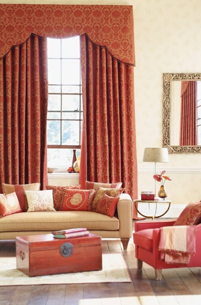 Living Room Curtain Design Beauteous 53 Living Rooms With Curtains And Drapes Eclectic Variety Review