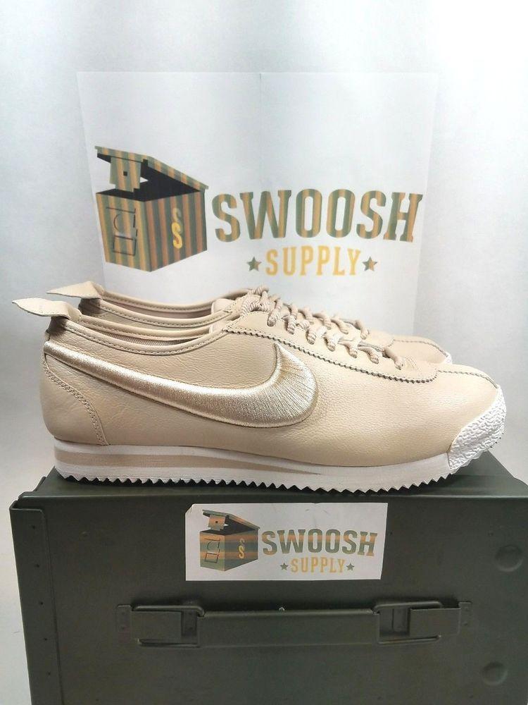 Nike Cortez /'72 SI Women/'s Shoes Black//Ivory 881205-001 NIB LEATHER BLACK