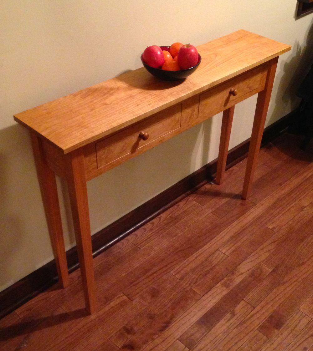 cherry sofa table. Shaker Sofa Table Cherry