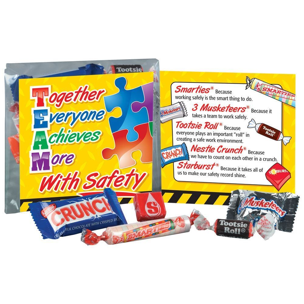 Together Everyone Achieves More With Safety Treat Pack