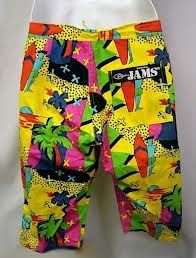 05d39ac63b Jams shorts! | Child of the 80's | Swim shorts, Swim trunks ...