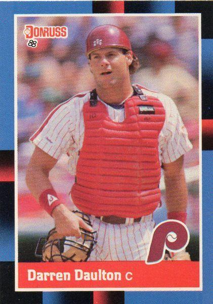 1988 Donruss Baseball Card Phillies Darren Daulton