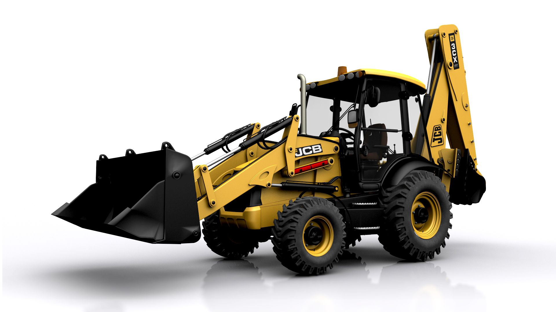 Jcb 3cx Backhoe Loader Model Is Not Mine Textured By Me Po Wiring Diagram